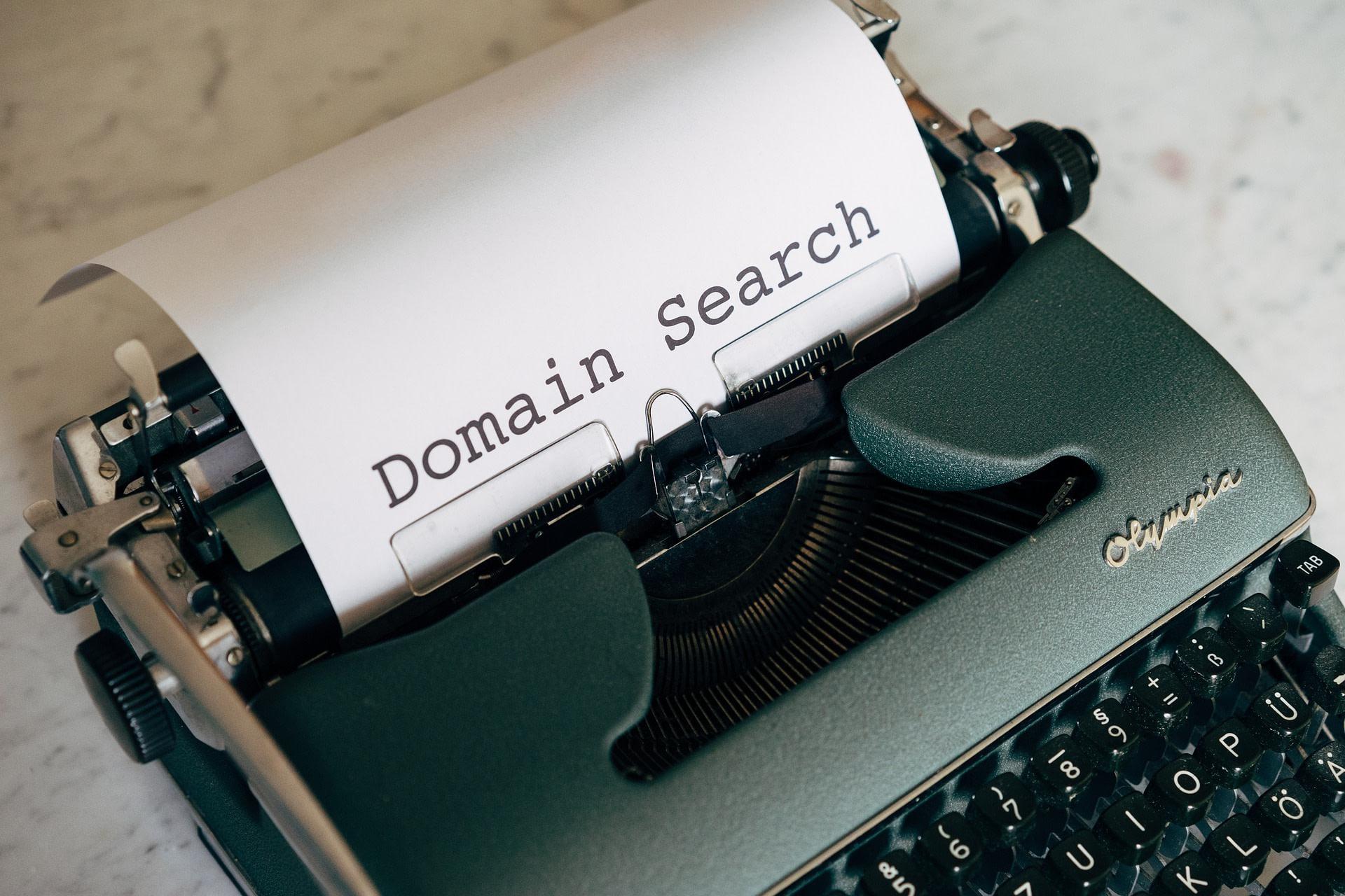 personal academic website domain name